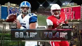 (21) Memphis vs (24)  Houston Full game Week 11 College Football 2015 14.11.2015