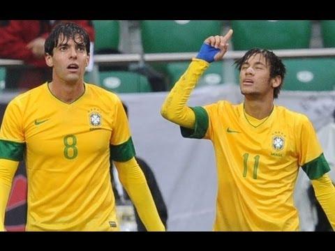 Brazil vs Japan 4 0 All Goals & Highlights Friendly Brasil 4 x 0 Japão. Neymar & Kaká 16 10 2012