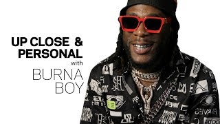 Burna Boy Talks 'African Giant,' Damian Marley & Angélique Kidjo Collab   Up Close & Personal