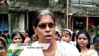 Destroyed Mhada building residents get no help in the city   Civic   Mumbai Live 