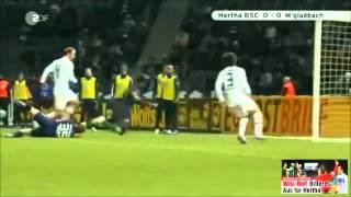 Hertha BSC vs. Mönchengldbach DFB Pokal 2012 Highlight!