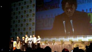 THE AVENGERS Cast Announcement at Comic Con 2010