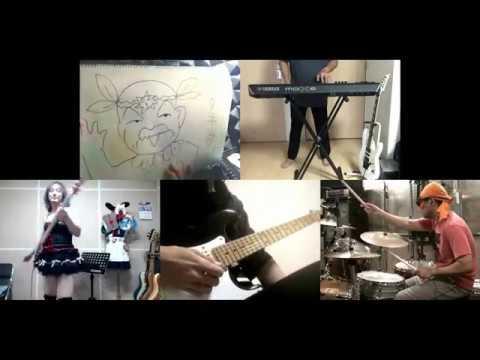 [HD]Mahoujin Guru Guru OP [Trip Trip Trip] Band cover