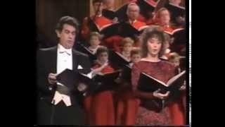Пласидо Доминго и Сара Брайтман — 1985 год — Нью Йорк — «Реквием» — Андрю Ллойд Веббер