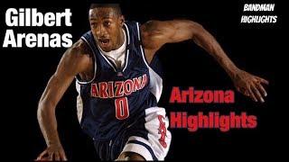 Gilbert Arenas Arizona Highlights