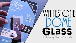 Best Clear Fullscreen Tempered Glass | Samsung Galaxy s8 and s8+ | Fully Adhered | Part I