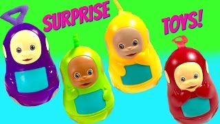 Teletubbies Stacking Cups Nesting Eggs Surprise Toys Play Doh Shopkins Huevos Sorpresa