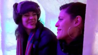 Lutsen Mountains Gondola Sessions - Dessa of Doomtree w/ friends Aby & Dustin