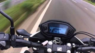 CB500F - Top speed