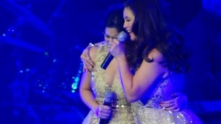 "REGINE VELASQUEZ to ANGELINE ""You deserve to be on this stage..."" (ROYALS: SM MOA Arena)"