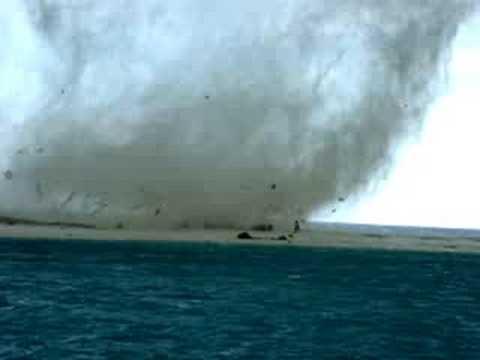 tornado en La Tortuga Venezuela
