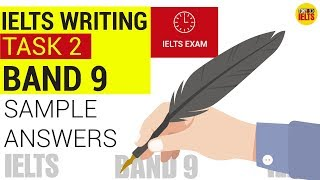 IELTS WRITING TASK 2 BAND 9 | SAMPLE ANSWERS & STRUCTURE | S1