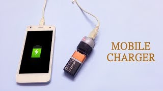 How to make Mini Emergency mobile charger