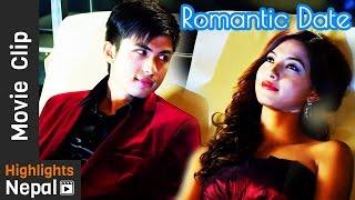 Romantic Date Night | DREAMS Nepali Movie Clip | Anmol K.C, Samragyee Rajya Laxmi Shah