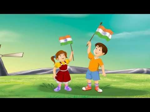 Famous Hindi Rhymes   Jhanda Ooncha Rahe Hamara   झंडा ऊंचा रहे हमारà¤