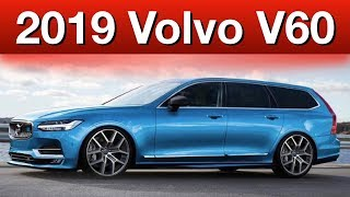 Volvo V60 cross country | 2019 | plug-in hybrid| redesign| crash test | specs | price | release date