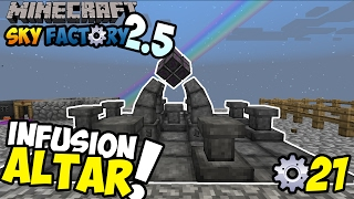 INFUSION ALTAR! ~ Minecraft Sky Factory Indonesia ep. 21