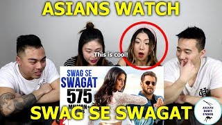 Swag Se Swagat Song | Tiger Zinda Hai | Reaction - Australian Asians