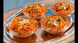 MOONG DAL HALWA recipe by sanjeev kapoor insp