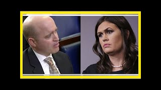 24/7 news-REPORTER Mr. trump has not weighed in roy moore — sanders quickly set the record straight