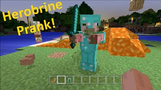 Minecraft Xbox - Herobrine Prank 2 - Part 2