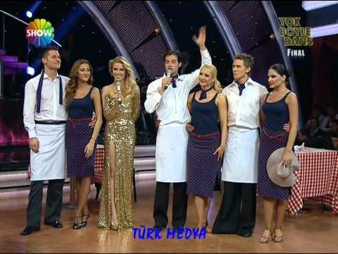 09 01 2012 SHOW YOK BÖYLE DANS FİNAL ALMEDA ABAZİ 3 TÜRK MEDYA SUNAR