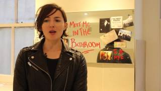 Faber Social meets Lizzy Goodman (in the bathroom)