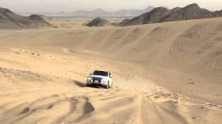 تطعيس باجيرو 2015 3.8 Pajero in desert