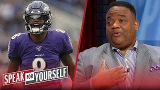 Jason Whitlock: I'm done doubting Lamar Jackson | NFL | SPEAK FOR YOURSELF