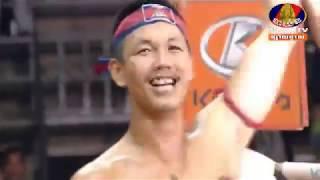 Khmer Boxing វង្ស ណយ Vs Chhorknamchhai (Thai) Kun khmer Bayon Boxing