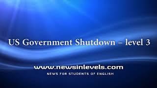 US Government Shutdown – level 3