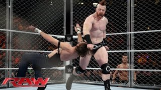 Dean Ambrose vs. Sheamus - Steel Cage Match: Raw, December 21, 2015