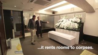 101 East -  Japan's 'corpse hotels' (Web extra)