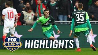 Werder Bremen vs. FC Augsburg | 2019 Bundesliga Highlights