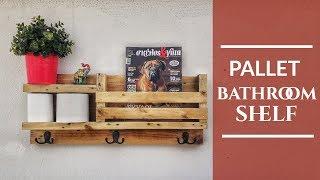 Pallet Shelf - Diy Industrial Decor (English Subtitles)