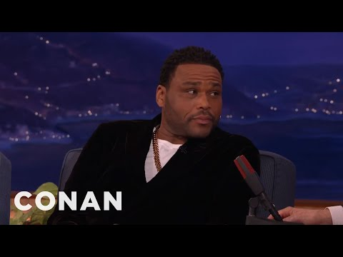 Xxx Mp4 Anthony Anderson's Mom Taught Him How To Perform Oral Sex CONAN On TBS 3gp Sex