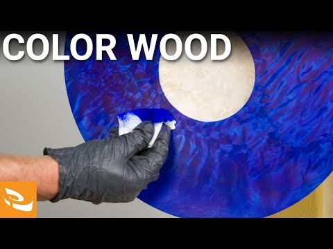 How to color wood Woodturning Tips and Techniques