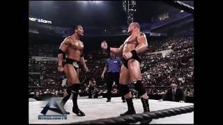 The Rock vs Brock Lesnar Summer Slam  2002 Highlights HD