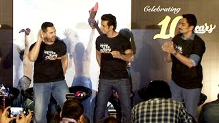 Rang De Basanti Movie 10 Yrs Celebration | Aamir Khan, Sharman Joshi, Siddharth