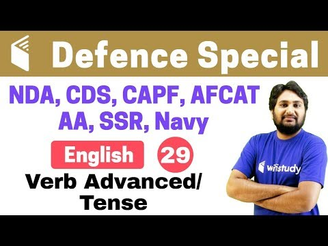 Xxx Mp4 7 00 PM NDA CDS CAPF AFCAT 2018 English By Harsh Sir Verb Advanced Tense 3gp Sex