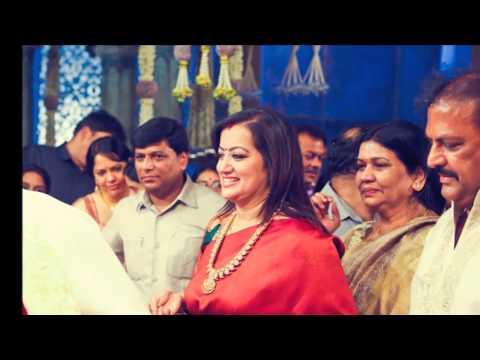 Actor Mohan Babu with family and Sumalatha Ambareesh at Chiranjeevi son wedding