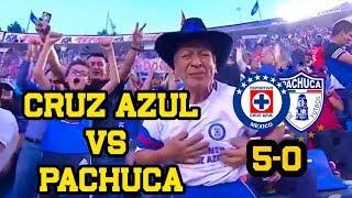 Color Cruz Azul vs Pachuca 5-0