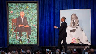 Barack Obama thanks portrait artist for capturing Michelle