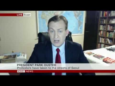 BBC INTERVIEW GOES WRONG: Kids interrupt dad on live BBC World broadcast