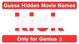 Only 5% Can Find Hidden Bollywood Movie Names - Puzzles for Genius