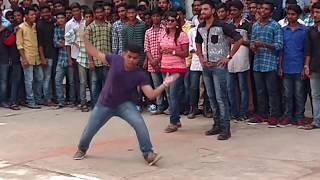 Shekhar Ramawat - Bala Tripuramani DANCE @MNR College (BRAHMOTSAVAM | Mahesh Babu | Kajal Agarwal)