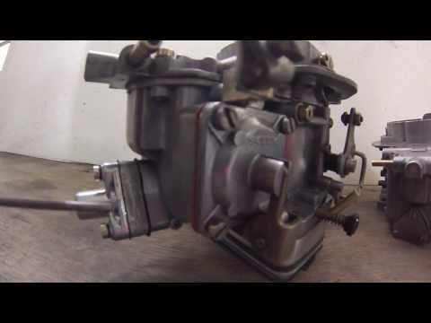 Biu Old Parts regulagem do Carburador Solex H34 SEIE que equipava o motor Sierra 1.6 do Corcel 2