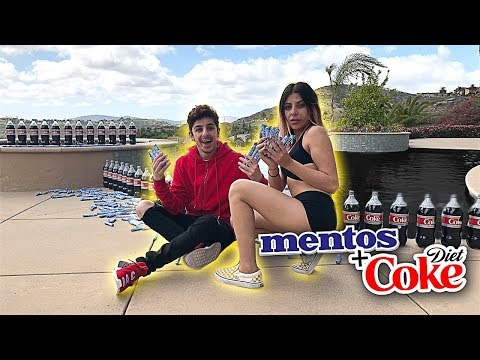 Xxx Mp4 EXTREME COKE AND MENTOS IN POOL EXPERIMENT 3gp Sex