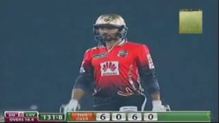 Mashrafe hits 4 sixes in 1 over to Shakib BPL 2016
