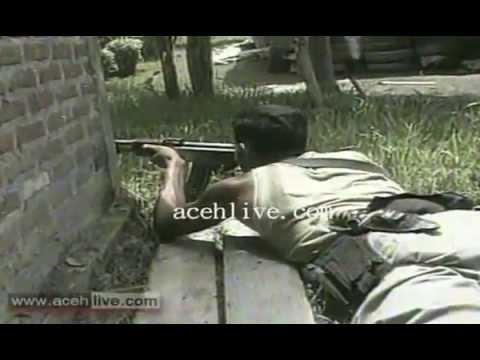 Baku Tembak GAM dengan TNI